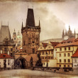 Stock Photo: Vintage Prague