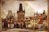 复古布拉格 — 图库照片