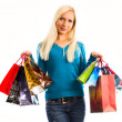 Women with shopping bags — Stock Photo #6724689