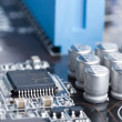 Electronic circuit board - Foto Stock