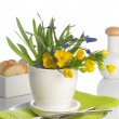 A formal place setting - Stock Photo
