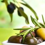 Постер, плакат: Tasting olive