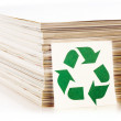 Concept of paper recycling - 图库照片