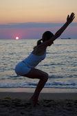 Sunset freedom — Stock Photo
