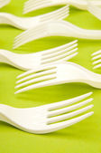 Plastic fork — Photo