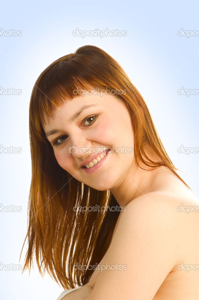 Girl smiling — Stock Photo #6726664