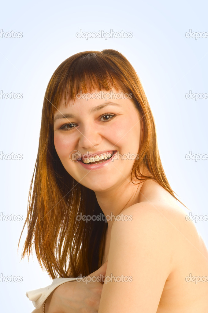 Girl smiling  Stock Photo #6726665