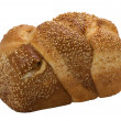 Loaf of  fresh wheat  bread - Photo