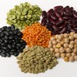 Different species of legumes — Stock Photo #6295565