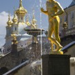 Peterhof near Sankt Petersburg, Russia — Stock Photo