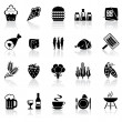 Icons food — Stockvektor #5576896