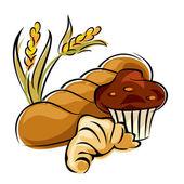 Pastry — Stock Vector