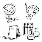 Education_Equipment — Stock Vector