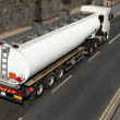 Truck With Fuel Tank — Stockfoto