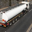 Truck With Fuel Tank — Stockfoto #5556491
