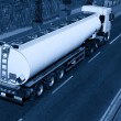 Stock fotografie: Truck With Fuel Tank, Monochromatic
