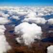 Aerial view of clouds — Stock Photo #5991651