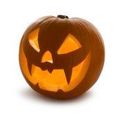 Halloween Pumpkin, isolated — Stock Photo