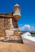 Fortress Ponta da Bandeira, Detail — Stock Photo