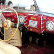 An interior of the retro old car — Stock Photo #6081804