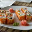 Sushi on a Plate — Stock Photo #6045139
