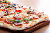 XXL pizza — Stock Photo