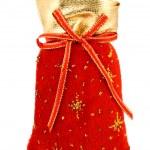 Christmas Santa Bag — Stock Photo
