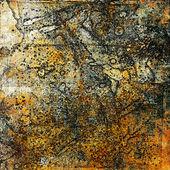 Kunst grunge abstracte achtergrond kaart — Stockfoto