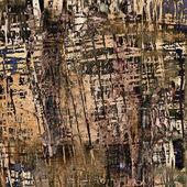 艺术抽象 grunge 图形纸背景 — 图库照片