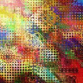 Streszczenie tęcza tło wzór — Zdjęcie stockowe