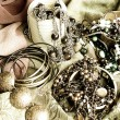 Art jewelry vintage background — Foto de Stock