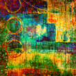 Art abstract rainbow pattern background — Stock Photo #5584470
