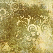 Art contour grunge background — Stockfoto