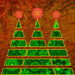 Royalty-Free Stock Photo: Art christmas tree