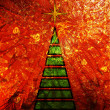 Stock Photo: Art christmas tree