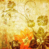 Art vintage floral background pattern — Photo