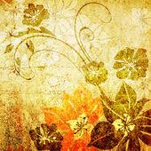 Art vintage floral background pattern — Stock Photo