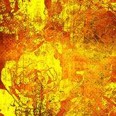 Sanat grafik renkli arka plan çizim çiçek — Stok fotoğraf