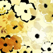 Art floral ornament grunge background - Stock Photo