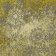 Art vintage floral ornament background — Stock Photo