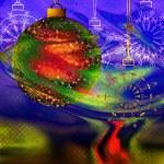 Art christmas background — Stock Photo #6561261