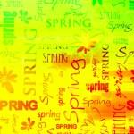 Art vintage word pattern background — Stock Photo