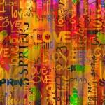 Art vintage word pattern background — Stock Photo #6573809
