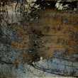 Art abstract grunge graphic texture background - Stock Photo