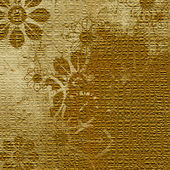 Art grunge floral vintage background texture — Stock Photo