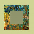 Royalty-Free Stock Photo: Art photo frame colorful background