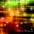 Art christmas background - Foto Stock