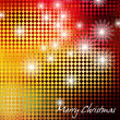 Art christmas background — Stock Photo