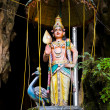 Statue of god at Batu caves, Kuala-Lumpur, Malaysia - Stock Photo