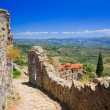 Ruins of old town in Mystras, Greece — Stock Photo #5477412